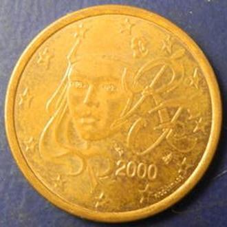 5 євроцентів 2000 Франція