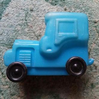 Машина Трактор пластмассовый СССР