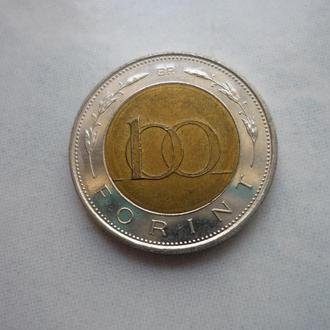 Венгрия 100 форинтов 1996 состояние