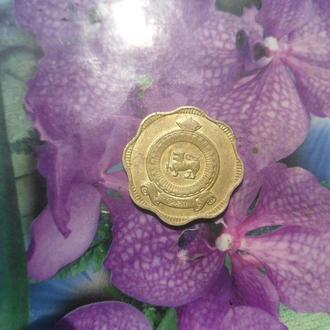 Шри-Ланка 10центов 1963г