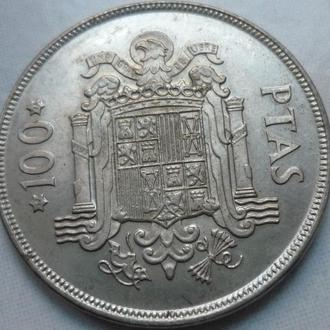 Испания 100 песет 1975  состояние