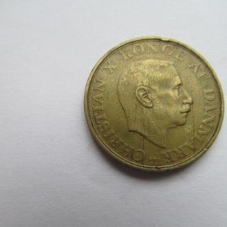 Дания  1  крона  1947  год