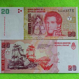 Аргентина 20 песо