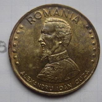 РУМЫНИЯ 50 лей 1991 г. (Александру Иоан Куза).