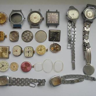 Часы женские (25 штук). Цена за всё!!! (№37)