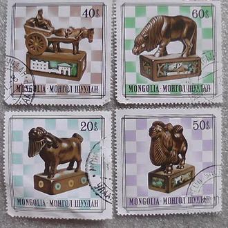 Марки Монголии