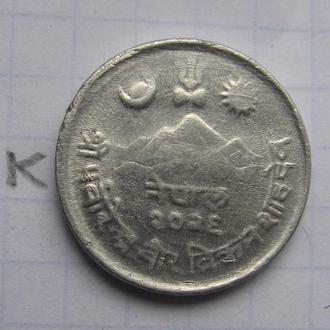 НЕПАЛ, 5 пайса 1969 г. (корова).