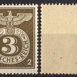1943 - Рейх - Спецштемпель Mi.830 **