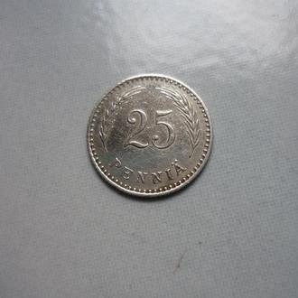 Финляндия 25 пенни 1926 S VF=1.25$