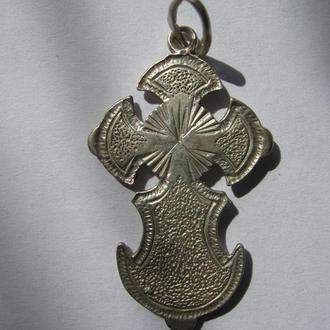 Крест - серебро 925, 4,34г