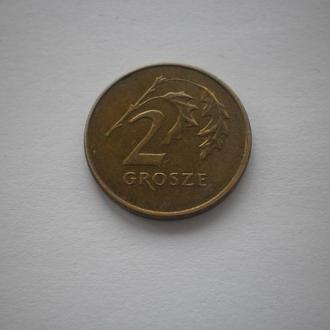 Польща. 2 гроша. 1991 рік. Недорого. Ціна 2 гривні.