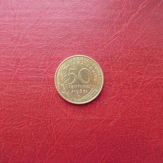 Франция 50 сантимов 1963