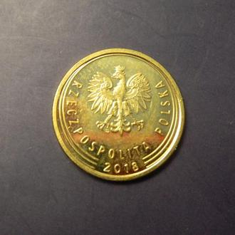 5 грошей 2018 Польща