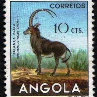 Ангола (1953) Португальская колония. Фауна