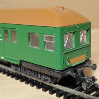 (1204) вагон пассажирский двухэтажный в масштабе TT (1:120)