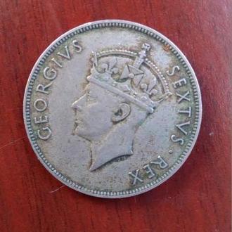 1 Шиллинг 1949 Восточная Африка Георг