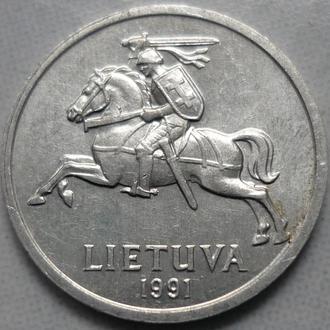Литва 1 цент 1991