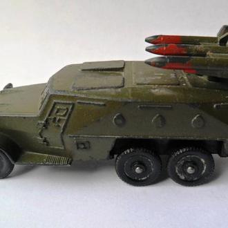 Модель БТР 152 с ПТУР ракетница, военная техника СССР USSR клеймо