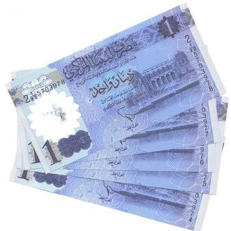 Ливия 1 динар 2019 г. в UNC