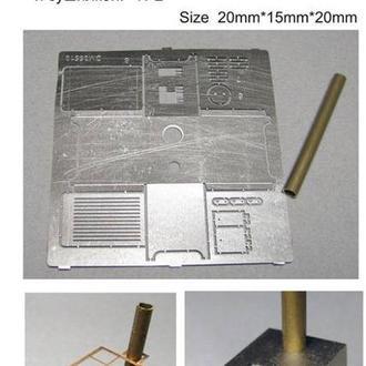 Danmodel 35511 - Печь буржуйка с варочной панелью и с сушилкой для вещей №2 1/35