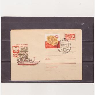 СГ.Корабли.Корабли в порту Гданьска. 1 конв.1969 г.
