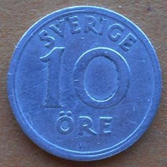 Швеция 10 эре 1921 год.