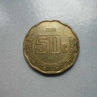 Мексика 50 сентаво 2006