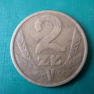 Польша 2 злотых 1984
