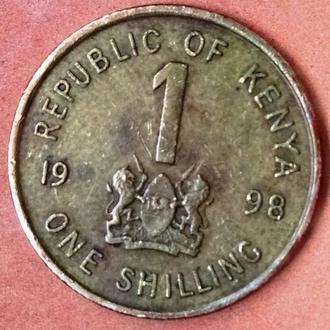 Кения 1 шиллинг-1998