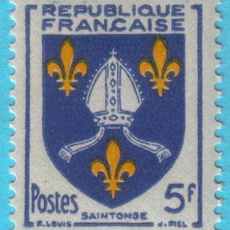 Франция Ми 1031, 1954 год MNH!