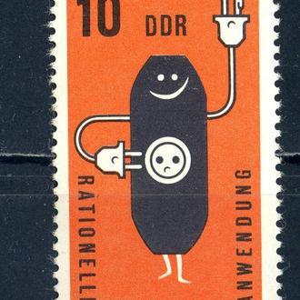 ГДР. Энергетика (серия)** 1981 г.