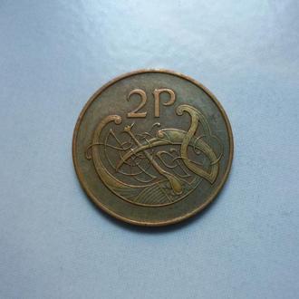 Ирландия 2 пенни 1971  ВА