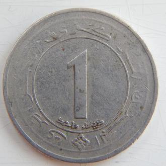 Алжир 1 динар 1987г. 25 лет независимости