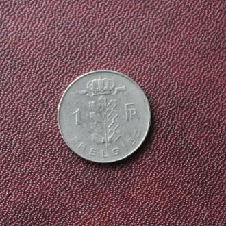 Бельгия, 1 франк, 1973г.