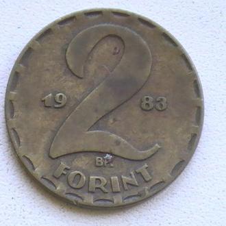 2 Форінта 1983 р Угорщина 2 Форинта 1983 г Венгрия