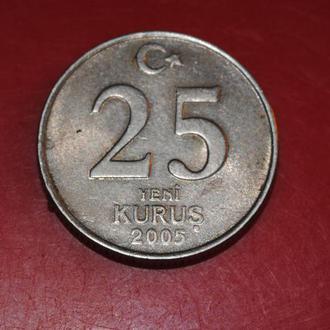 25 куруш 2005 г Турция