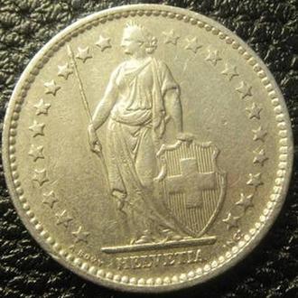 2 франка 1974 Швейцарія