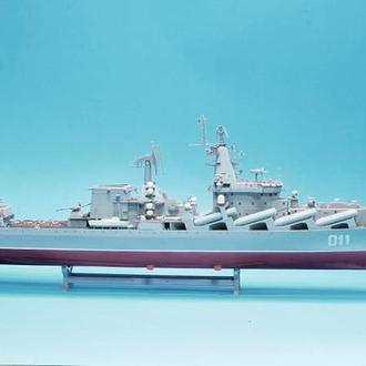 Масштабная модель крейсера Москва(на радиоуправлении)