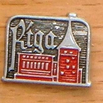 Значок   город Рига