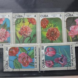 Куба. 1985г. гаш.