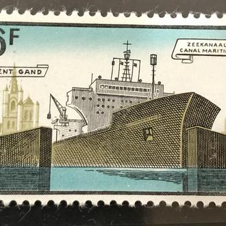 1968. Бельгия. Чистая. Флот. Порт