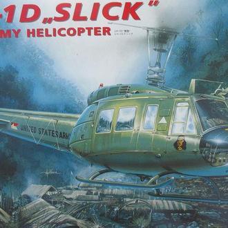 """Сборная модель вертолета UH-1D """"Slick"""" 1:48 Italeri"""