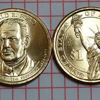 1 доллар, 38 президент США Джеральд Форд , 2016 г