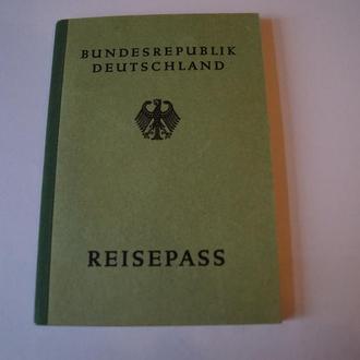 1953 ФРГ Reisepass Заграничный Паспорт Германия 08