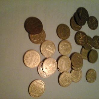2001 год 1 гривна х 25 штук