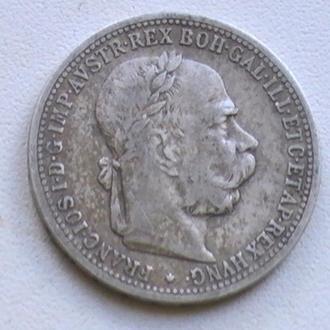 1 Крона 1901 г Австрия Серебро 1 Корона 1901 р Австрія Срібло