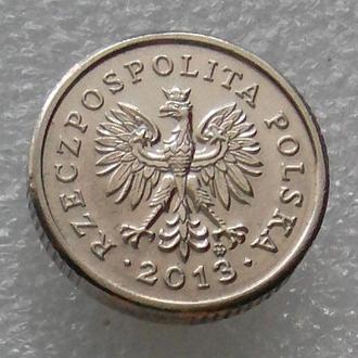 Польша 10 грош 2013 года