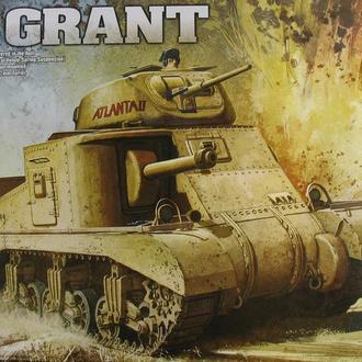 Сборная модель танка M 3 Grant 1:35 Academy 13212