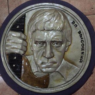 Плакетка барельеф Владимир Высоцкий