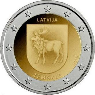 Shantaaal, Латвия 2 евро 2018, Историческая область Земгале